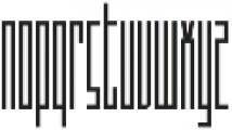 Sothin otf (100) Font LOWERCASE