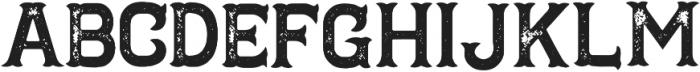 Soudern otf (400) Font UPPERCASE