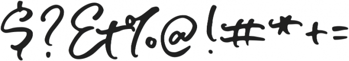Soul Drifter Script otf (400) Font OTHER CHARS