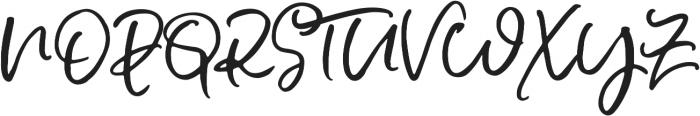 Soul Drifter Script otf (400) Font UPPERCASE