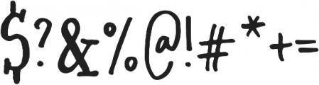 Soul Drifter Serif otf (400) Font OTHER CHARS