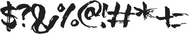 Soul King otf (400) Font OTHER CHARS