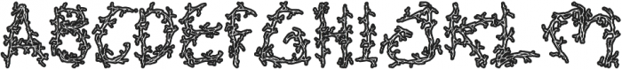 Soul King otf (400) Font UPPERCASE