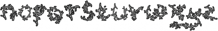 Soul King otf (400) Font LOWERCASE