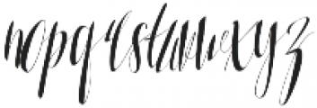 Soulmater otf (400) Font LOWERCASE