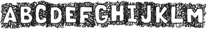 Sourwood Regular otf (400) Font UPPERCASE