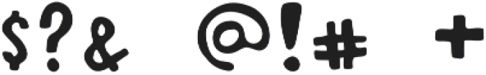 Sourwood Smooth Regular otf (400) Font OTHER CHARS