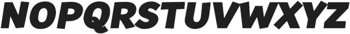 Souses Black Italic ttf (900) Font UPPERCASE