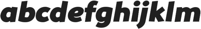 Souses Black Italic ttf (900) Font LOWERCASE