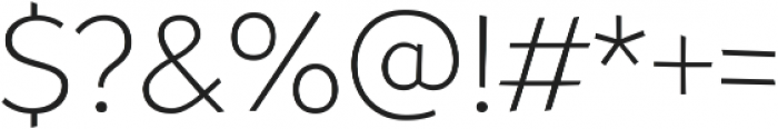 Souses Light ttf (300) Font OTHER CHARS