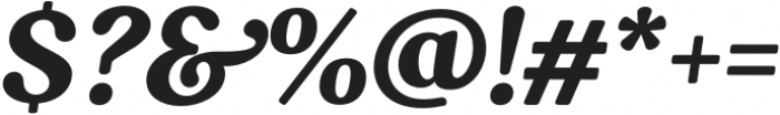 South Belgian Italic otf (400) Font OTHER CHARS