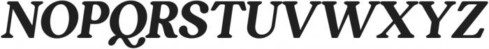 South Belgian Italic otf (400) Font UPPERCASE