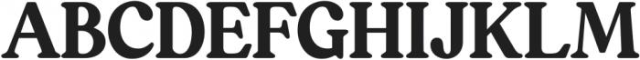 South Belgian Regular otf (400) Font UPPERCASE