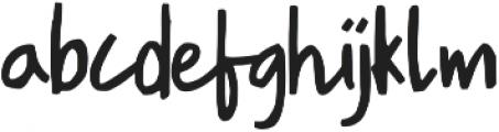 South River ttf (400) Font LOWERCASE