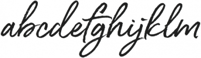 South Route otf (400) Font LOWERCASE