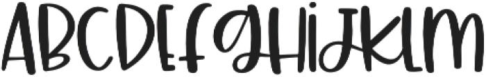 South Shore Regular otf (400) Font LOWERCASE