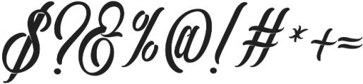 Southamton otf (400) Font OTHER CHARS