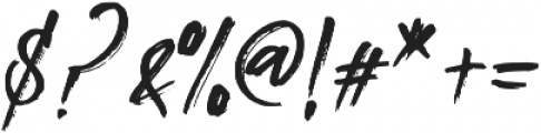 Southeast otf (400) Font OTHER CHARS