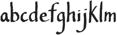 Southern Belle otf (400) Font LOWERCASE