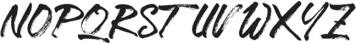 Southern Raptor otf (400) Font UPPERCASE