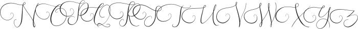 Southfall Light otf (300) Font UPPERCASE