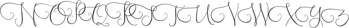 Southfall Upright otf (400) Font UPPERCASE