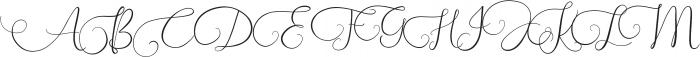 Southfall otf (400) Font UPPERCASE
