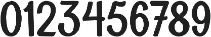 Soybeanut Brush otf (400) Font OTHER CHARS