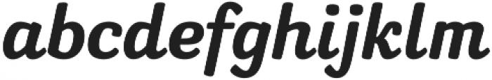 softipen script Regular otf (400) Font LOWERCASE