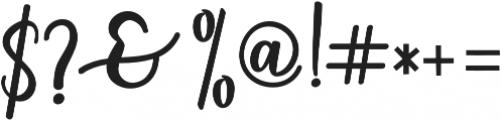 someday Bold otf (700) Font OTHER CHARS
