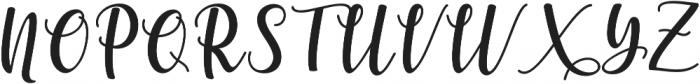 someday Bold otf (700) Font UPPERCASE