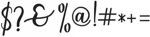 someday Regular otf (400) Font OTHER CHARS