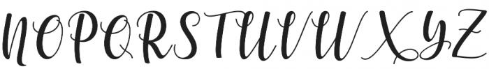 someday Regular otf (400) Font UPPERCASE