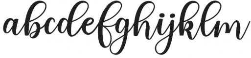 someday Regular otf (400) Font LOWERCASE