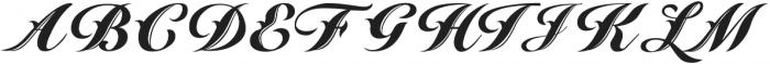 southern california ttf (400) Font UPPERCASE