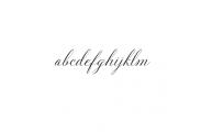 Solidaritha Script Font LOWERCASE
