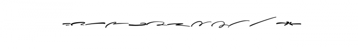Sophisticated Signature Swash.ttf Font LOWERCASE
