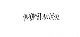 Sophisticated Signature.ttf Font UPPERCASE