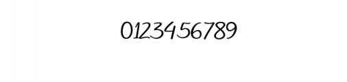 Soulmate script Bold.ttf Font OTHER CHARS
