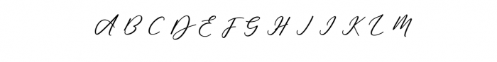 Soulmate script Bold.ttf Font UPPERCASE