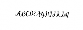 someday.ttf Font UPPERCASE