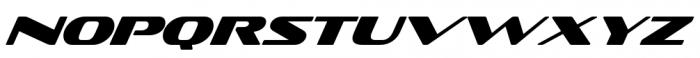Sofachrome Italic Font UPPERCASE