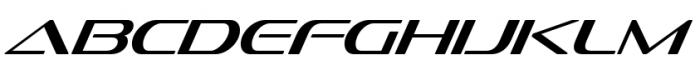 Sofachrome Light Italic Font UPPERCASE