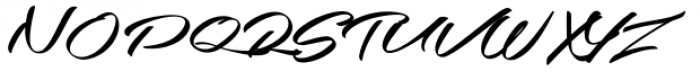 Southern-Aire Font UPPERCASE
