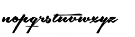 Southern-Aire Font LOWERCASE
