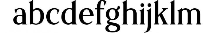 Sochelia Font LOWERCASE