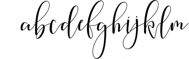 Society Calligraphy Modern Font LOWERCASE