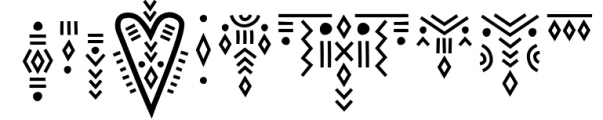 Solaris - Tribal Font Family Font OTHER CHARS