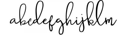 Sophistic script Font LOWERCASE