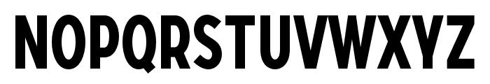 SONGERCondensed-Bold Font UPPERCASE